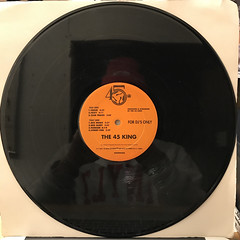 THE 45 KING:THE LOST CLUB TRAXS (VOLUME 1 & 2) - THE ORANGE ALBUM(RECORD SIDE-A)