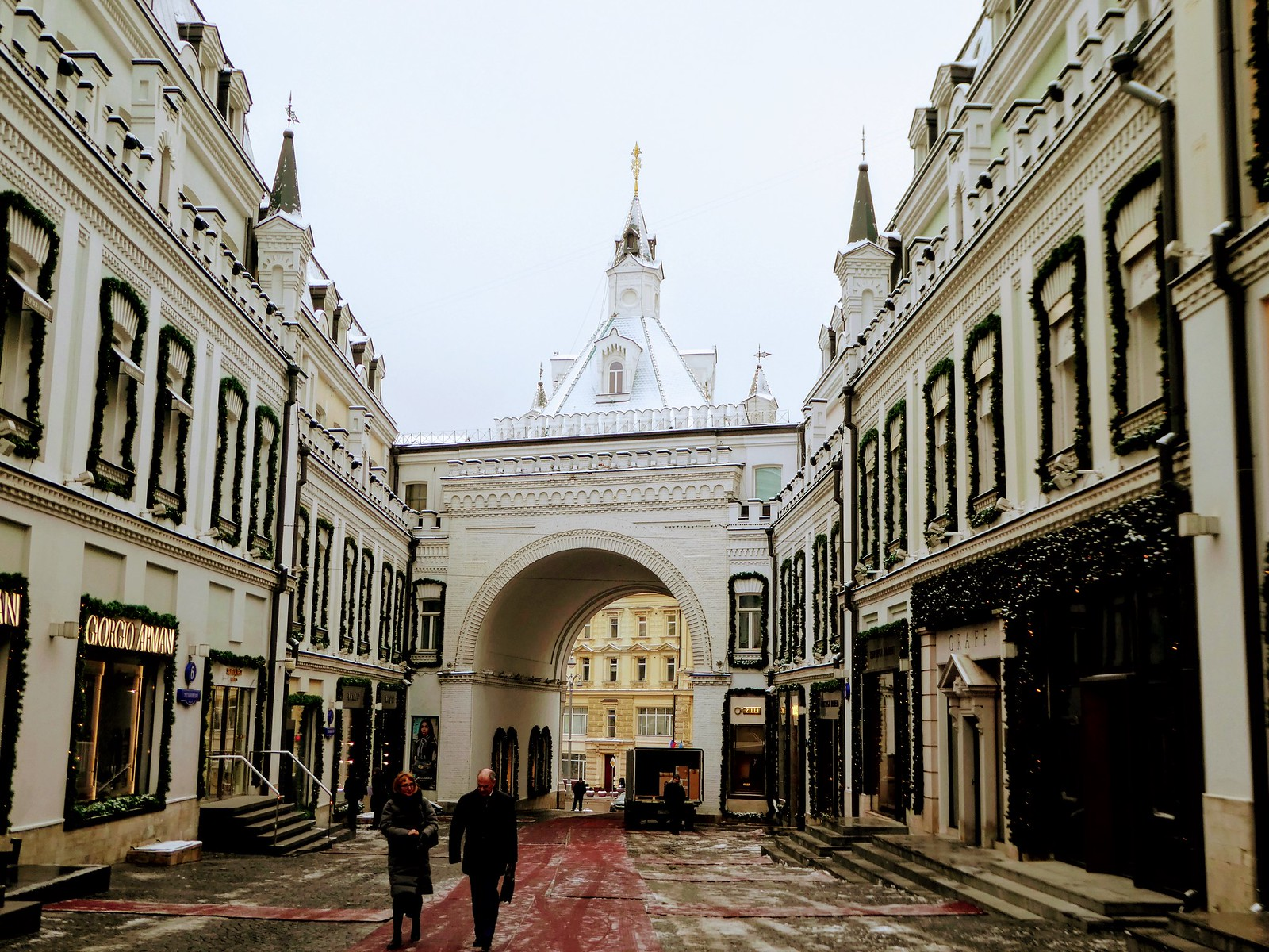 Tretyakovsky Passage Lubyanka Moscow