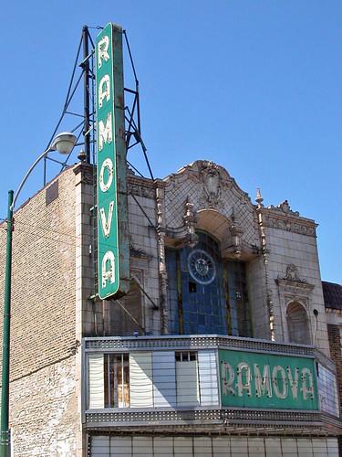 former home of the Ramova Theatre