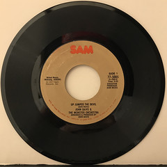 JOHN DAVIS & THE MONSTER ORCHESTRA:UP JUMPED THE DEVIL(RECORD SIDE-A)