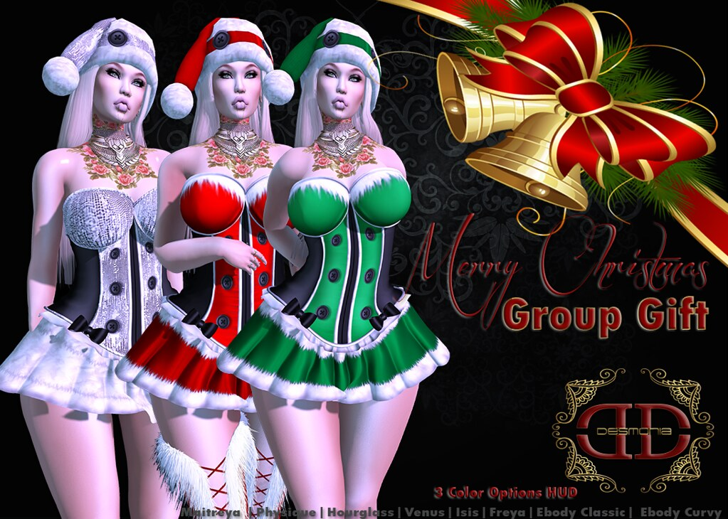 MRS CLAUS GROUP GIFT - TeleportHub.com Live!