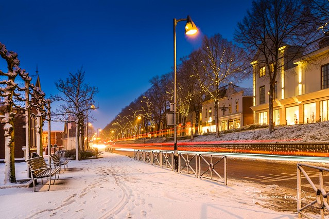 Winter in town