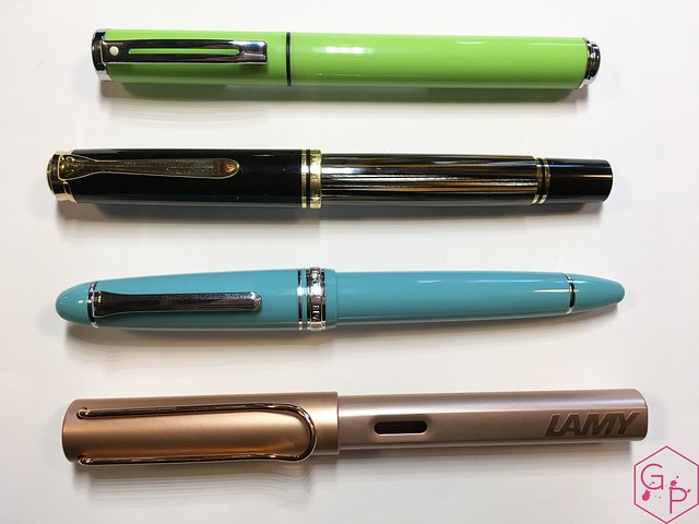 Review Sheaffer Pop Glossy Lime Fountain Pen @GoldspotPens 4
