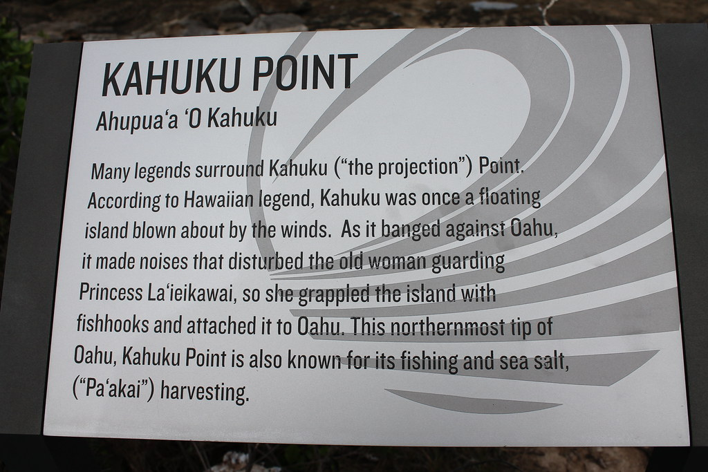 Kahuku Point sign