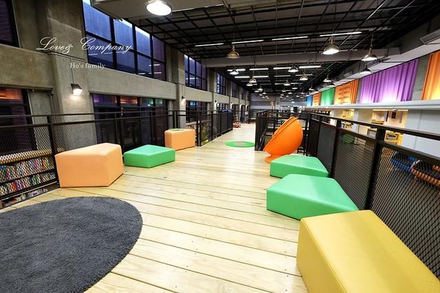 【台北親子免費景點】新北市立圖書館江子翠分館兒童室14