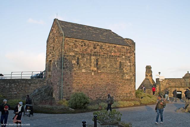 St Margaret's Chapel, Castello di Edimburgo