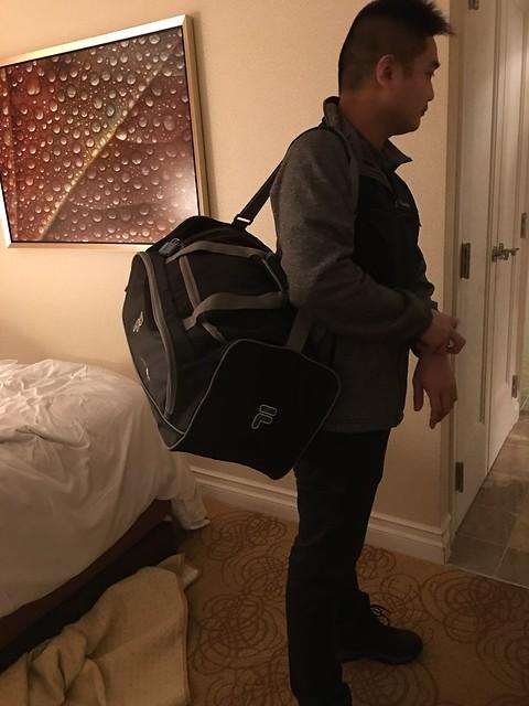 Heavy duffle bag