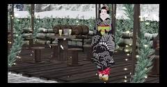 First Bento Mesh Kimono