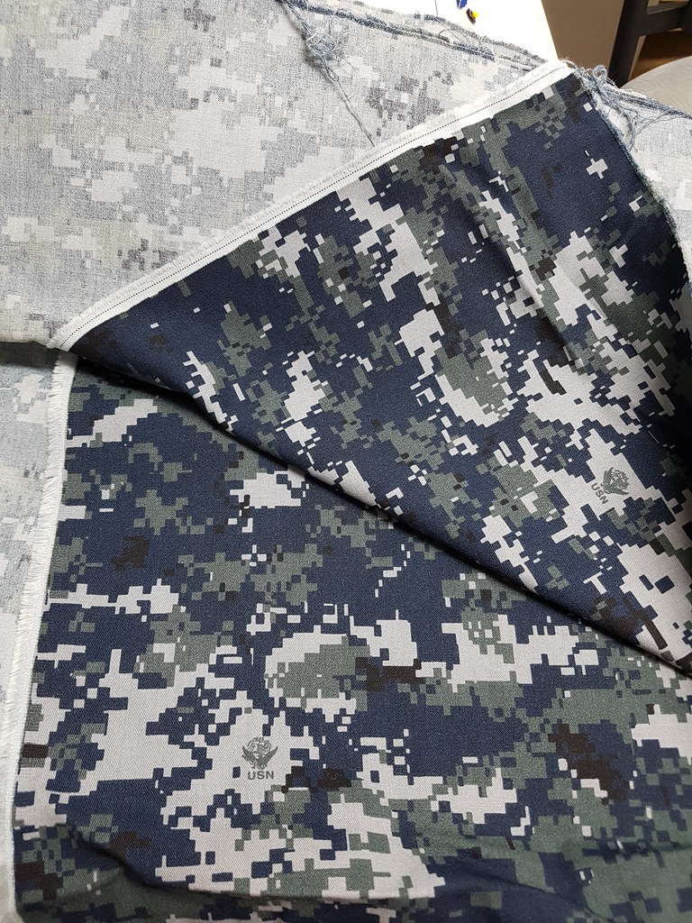 camouflage twill fabric