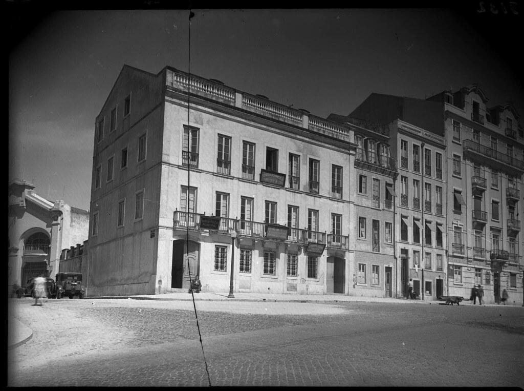 Av. do Duque de Loulé e Rua de Andrade Corvo, Lisboa (F.M.Pozal, 194...)
