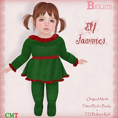 Elf Jammies AD