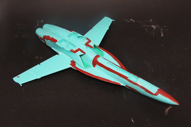 "Montage du F/A-18F ""The Idolmaster"",  1/48 39046721182_bae245ce53_c"