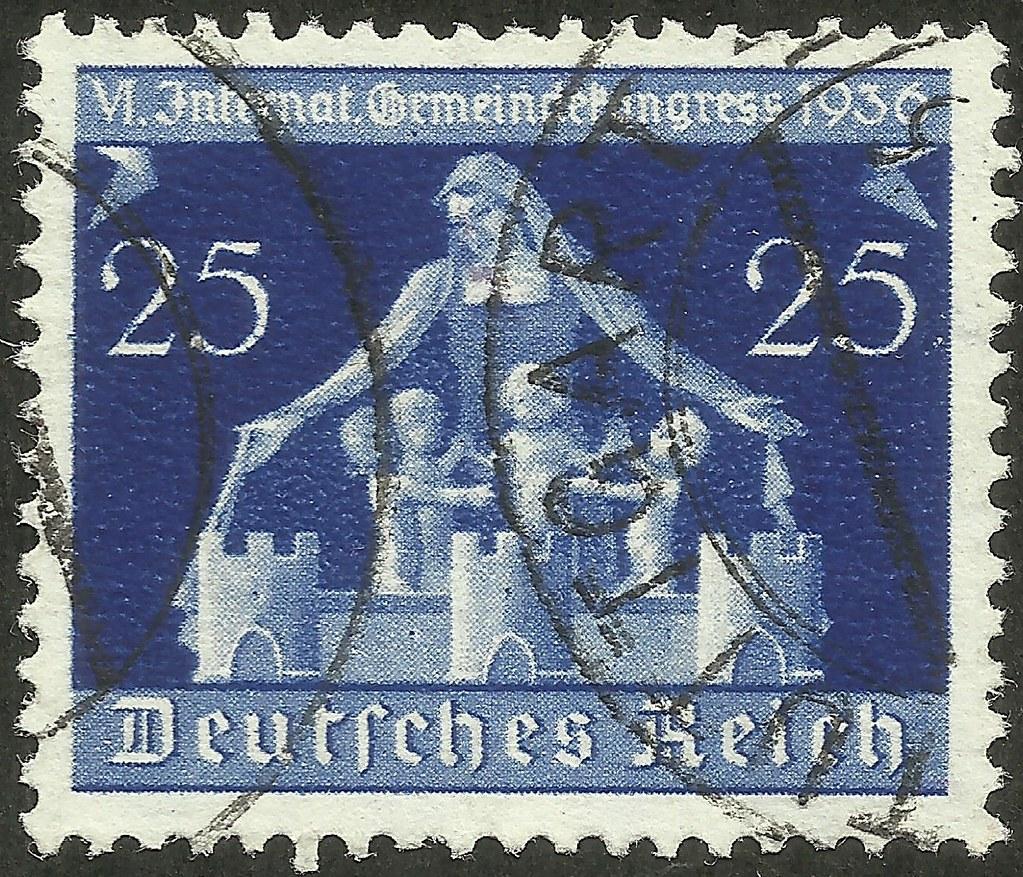 Germany - Scott #476 (1936)