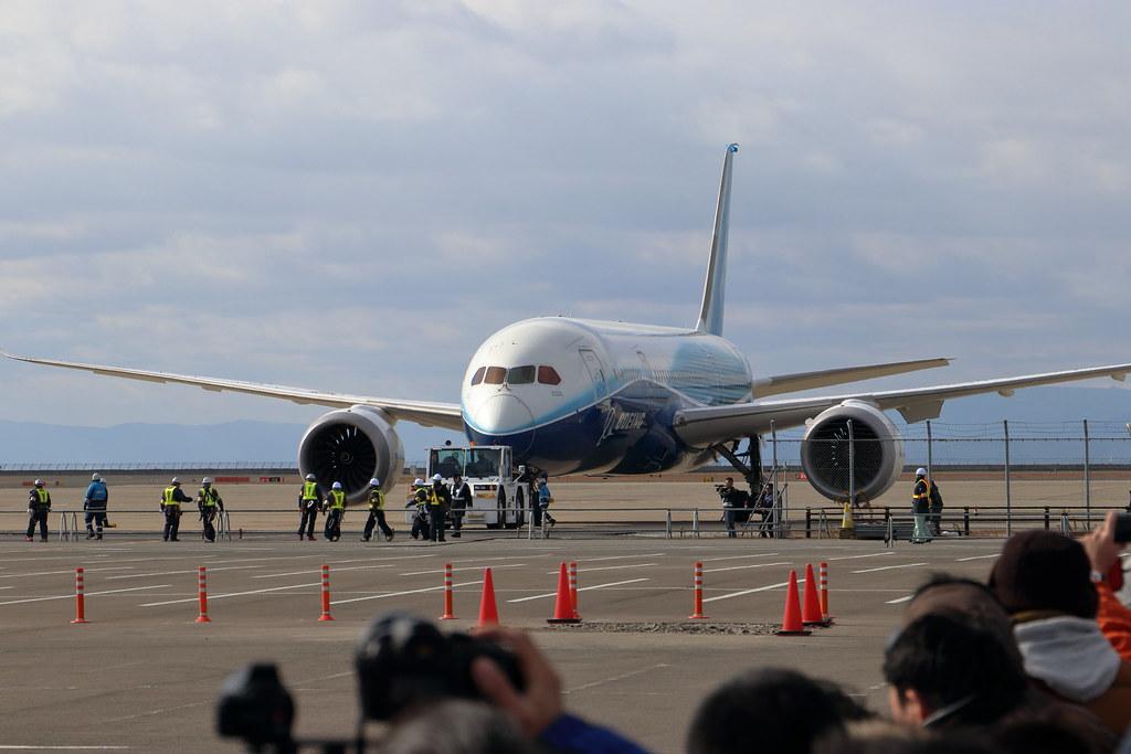 Boeing 787 ZA001