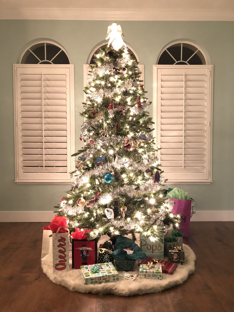 Our Christmas tree at the new house!