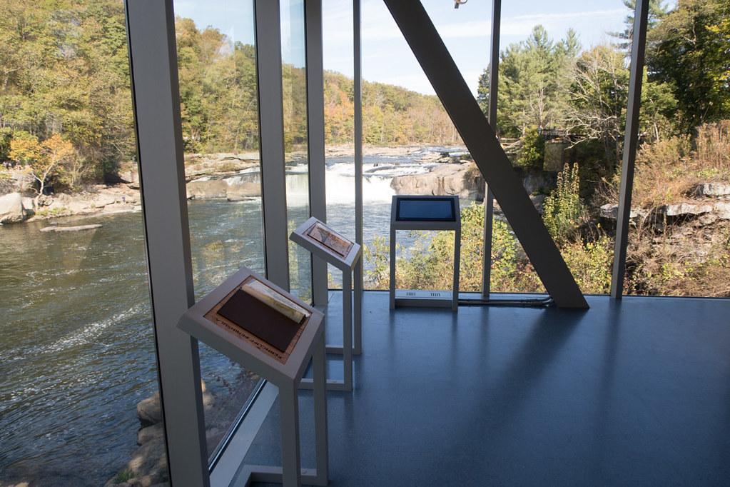 Ohiopyle Visitor Center Lookout Windows