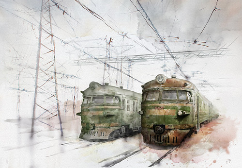 Old trains