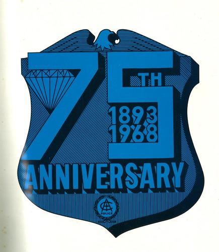 1968-75th Anniversary Shield