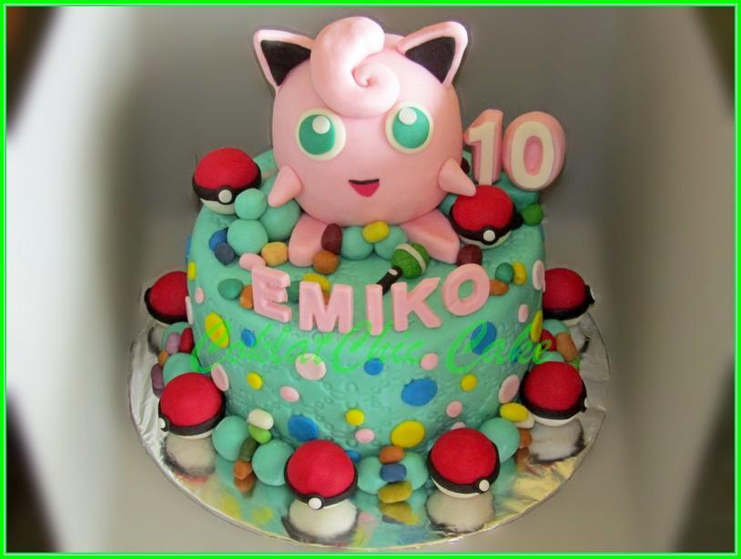 Cake Pokemon EMIKO 15cm