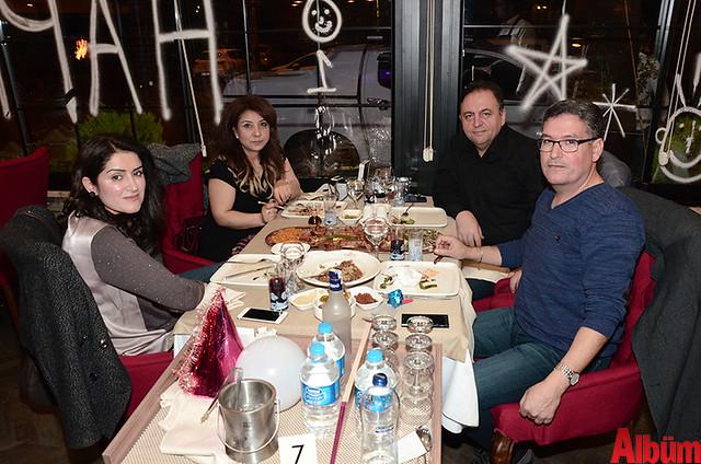 Dr. Ali Doğan, Mesut Aksoy ve eşleri