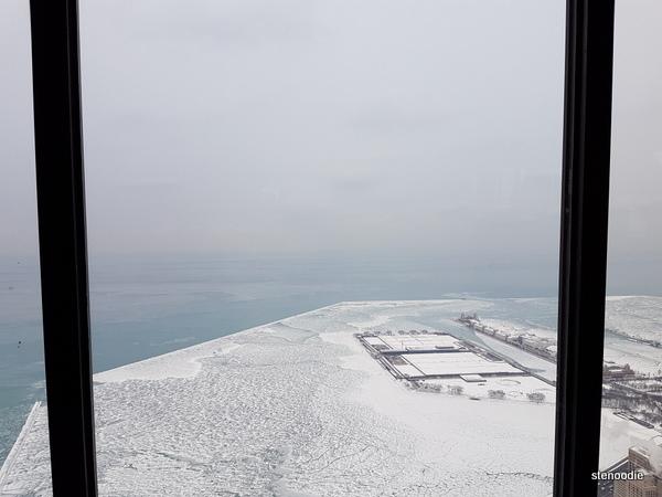 360 Chicago winter views