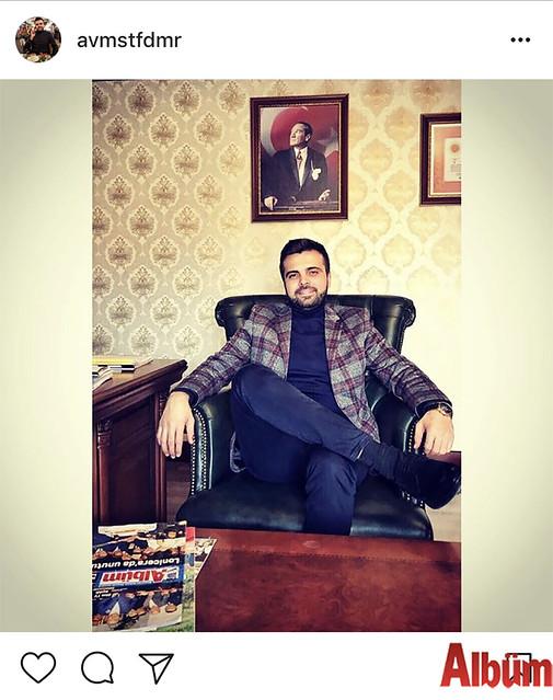 Avukat Mustafa Demir, paylaştığı bu fotoğrafla beğeni topladı.