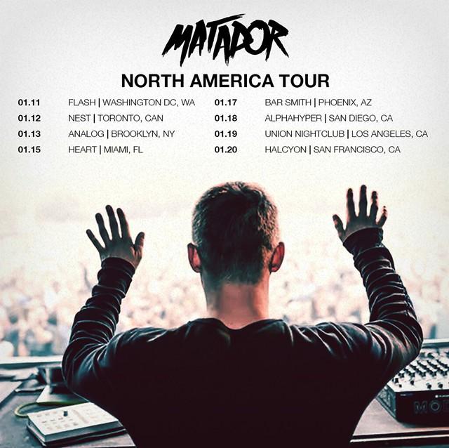 matador tour flyer