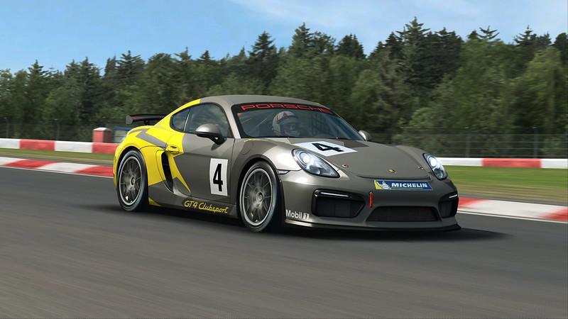 RaceRoom PorscheCayman GT4 Clubsport
