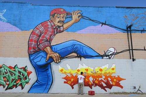 Borderland Jam-Graffiti, El Paso