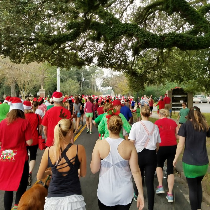 12/23/2017 Carpe Diem Santa Run, Mobile, AL