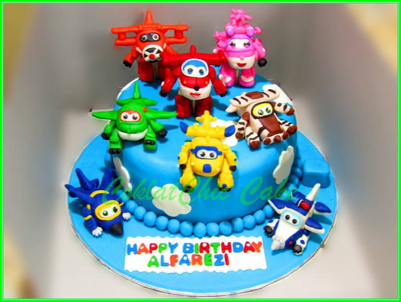 Cake Superwing ALFAREZI 15cm