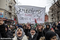 Protest over Jerusalem, Berlin, Germany, 10.12.2017