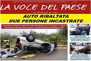 Noicattaro. Prima pagina n.46-2017 front
