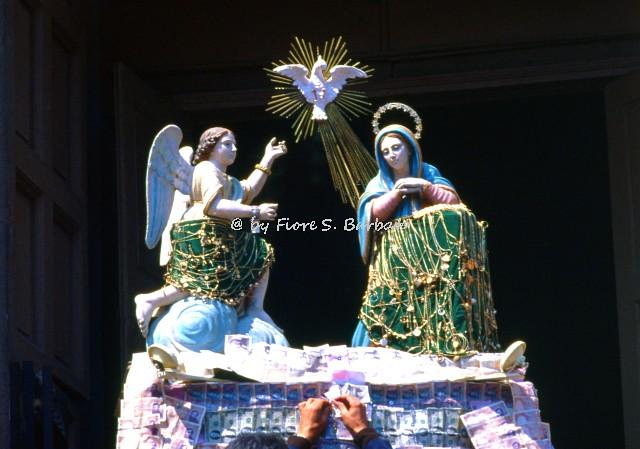 Prata di Principato Ultra (AV), 1979, Festa per Maria SS. Annunziata.