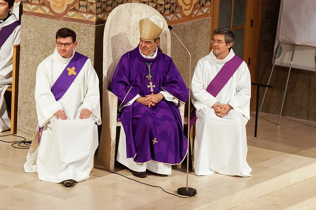 Messe d'action de grâce présidée par Mgr Aupetit - 20 décembre 2017