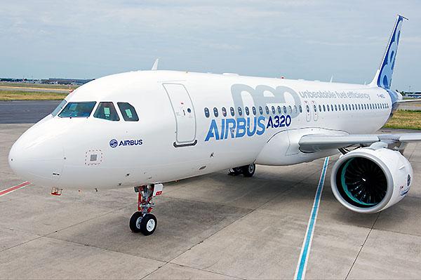 Airbus A320neo tarmac (Airbus)