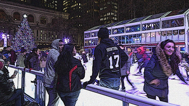 Winter Village at Bryant Park 1