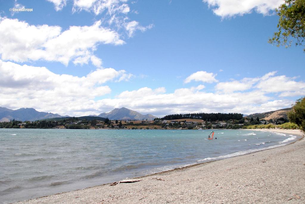 Järvimaisema, Wanaka, Uusi-Seelanti