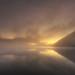 Misty Sunset, Ullswater, Lake District