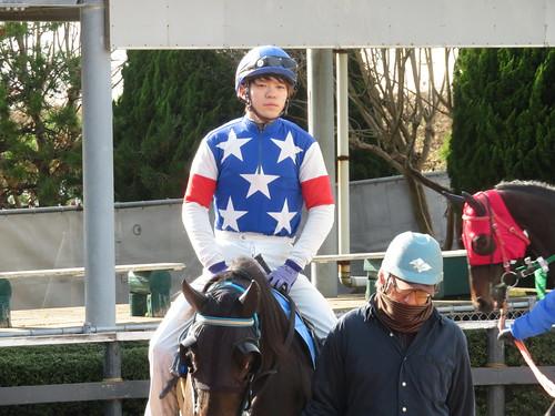 金沢競馬場の栗原大河騎手