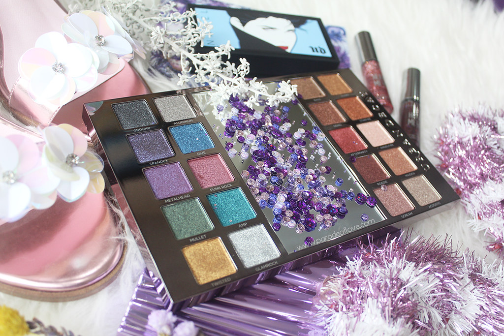 Urban Decay Heavy Metals Metallic Eyeshadow Palette 02