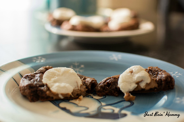 Soft & Chewy Hot Chocolate Cookies