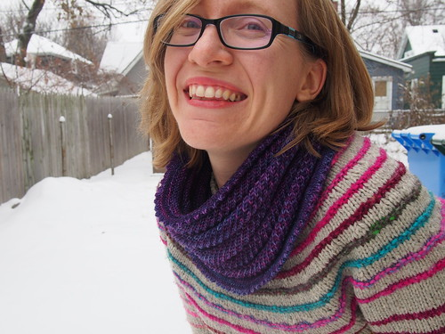 Finished Willow Cowl #2!