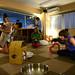 3. Interior del Cat Cafe Nekoribi Café de Tokio en Japón