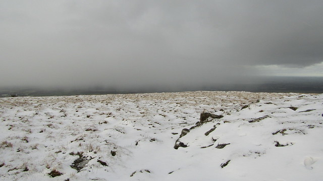 Snow approaching fast!
