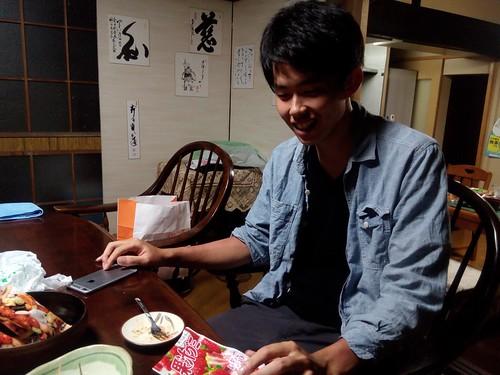 実家にいた片山さんと合流withピオニーwithoutまっちゃん&YOSHIKI。至れり尽くせりでした。感謝しかない。おしまい。