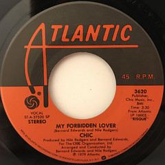CHIC:MY FORBIDDEN LOVER(LABEL SIDE-A)