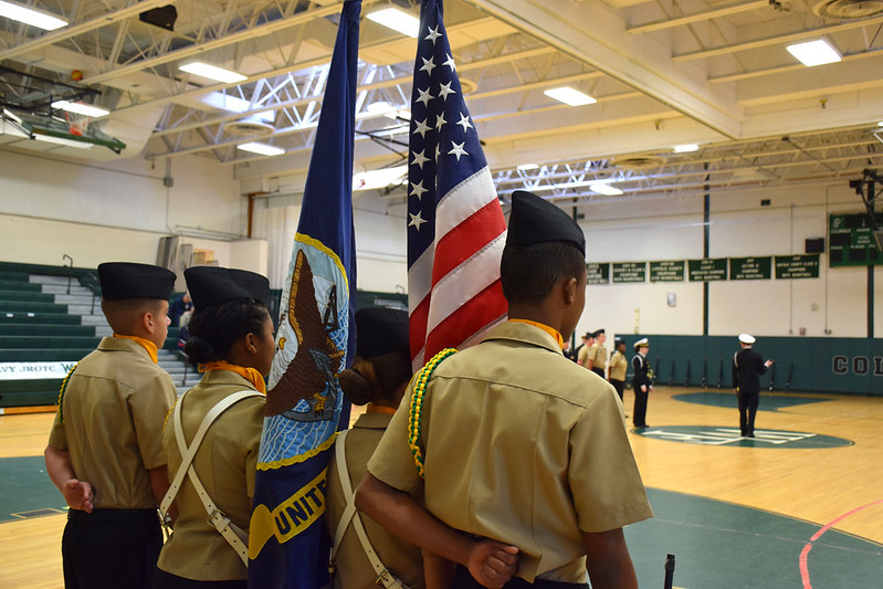 WFHS NJROTC Annual Military Inspection & Pass-in-Review - 12-14-17