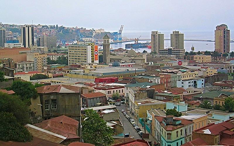 Valparaiso central Chile