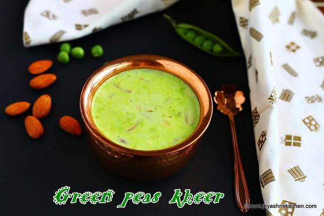 Green-peas kheer